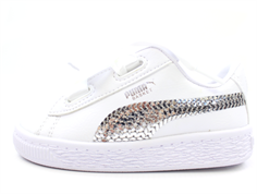 36849 02 Basket Heart Bling Puma White-Puma Silver